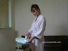Widow Mother With A Sensational Ass Seduced And Fucke...