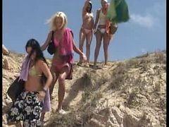 Teen Beach Orgy
