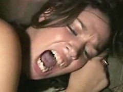Hot Brunette Got Fucked Hard At Party