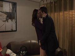 Brunette Office Affair