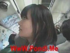 [japan Porn] Public Blowjob On Bus - 02