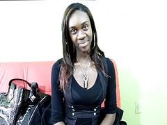 Slim Amateur Ebony Gets Pounded