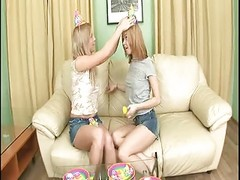 Gorgeous Teen Twins In Anal Fuck...