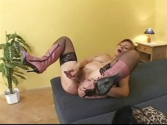 Mature Hairy Hot Granny Gets Bbc...