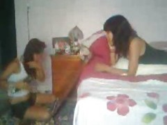 Young Couple Fuck While Sister A...