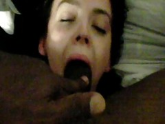 Girl Friend Gets Deep Throated A...