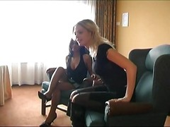 Dutch Blonde And Brunette Groupsex...
