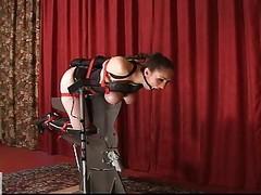 Slavegirl Double Fucked By 2 Mis...