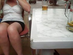 Upskirt No Knickers