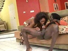 Busty Ebony Milf Delotta Brown Fucked And Creamed