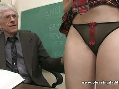 Student Fucks Nasty Old Teacher...