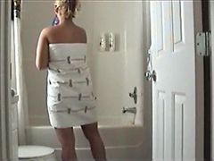Spanish Wifey In The Shower