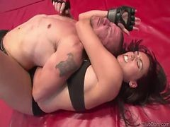Megan - Mixed Wrestling Strapon