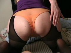 Ass Hose Panty Blow