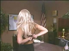 Horney Blonde Student Fucks Her Teacher