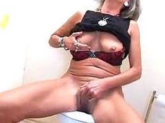 Old Slut Fucked At The Gloryhole