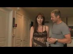 Blue Eyes Mature Housewife Cheating With Young Guy