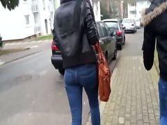 Christel Voyeur Sexy Teen Ass 2 (with Her Friend Buse)
