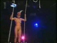 Naked Trapeeze Woman