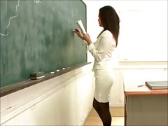 Sexy Japanese Teacher Fucking St...