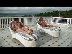Costa Rican Housewife Fucks On Rooftop With Friends...f70