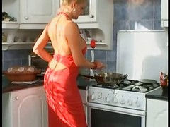 German Milf Fucked In The Kitche...