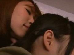 Asian Girl Kissed Getting Her Pu...