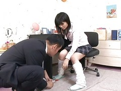 Japanese Schoolgirls Pussy Is Li...