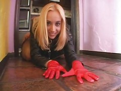 Blonde Whore Kelly Wells Banged Hard, Faciali