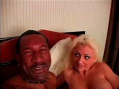 Victoria Milking Black Cock With All She...