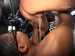 German Babes Pissing In Car Garages