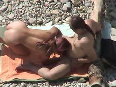 Nude Beach Couple Fucking Tanned Girl