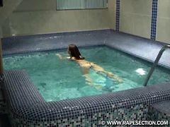 M-f Wilson Pool Forcedsex