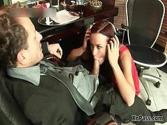 Slutty Secretary Sucking Part1
