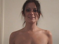 Amateur Young Couple Great Actio...