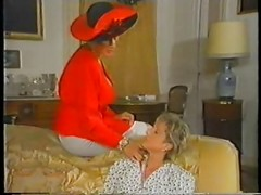 Retro Mature French Mom Enjoys F...
