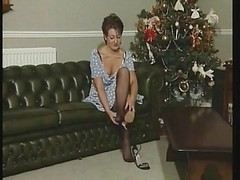 British Slut In An Early Christm...