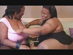 2 Big Girls Suck  Each Other Aft...
