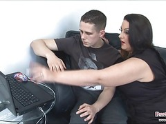 Dani Amour Teaches Nurd How To F...