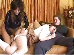 Asian Wife Has Babysitter Suck H...