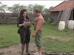 Peasant Guy Ruined Asshole Of Real Lady