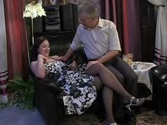 Russian Dad And Daughter Taboo Family Old Young Sex I...