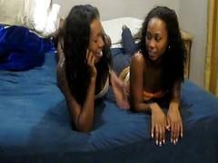 Hot Young Ebony Girlfriends Enjo...