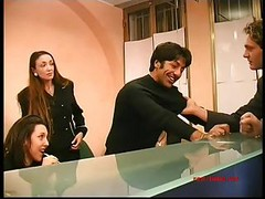 Hardcore Gangbang In Italian Office - Part 1