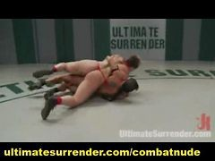 Wrestler With Huge Eee Breasts Battles Hot Hawaiian