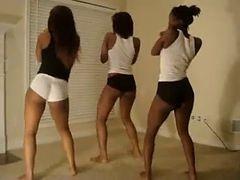 Twerk Team : Black Teen Ass In Sync - Ameman
