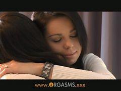 Orgasms - Brunette Teen Lesbians