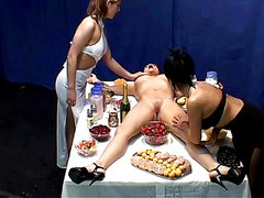 Wow Dinner With Naked Girl On A...