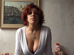 Maria - Ti Prego... Dammelo (natural Busty Amateur) P...
