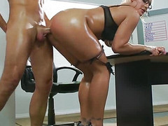 Horny Teacher Fucking Analy With...